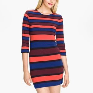 French Connection Jag Striped Multi Color Dress